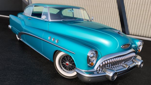 1953 Buick Super Riviera Coupe by SamCurry