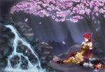 It doesn't take much - (RWBY Summer contest 2015) by Z3phyra