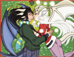 A Dragon Christmas: Commission by neoanimegirl