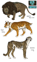 Adoptables - Big Cats CLOSED by Anipurk
