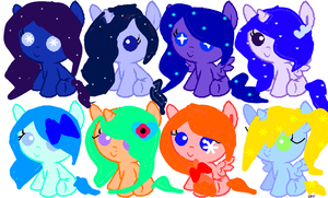 Adoptables by lovelyhamster