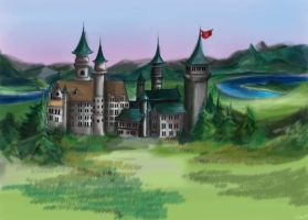 A castle by Sunny20