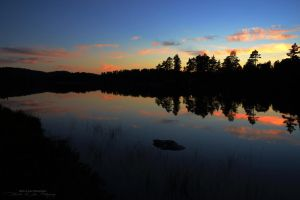 Sunset in Norway by malinraas