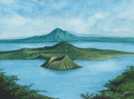 Taal Lake by Abremson