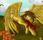 Fall Winds and Holy Mocha by SpectralPony