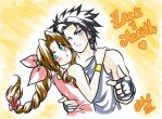 Contest: Aerith x Zack by Rolly-Chan