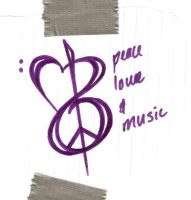 Peace, Love, and Music by sillyg00sey