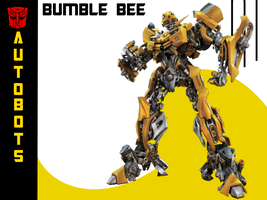 Transformers- Bumble Bee W.P. by Ju-ko-chan
