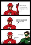 A Valentine's day message from Barry (and Hal) by kyomusha