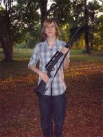 Me and my .22 Rifle by DJ-Zemar