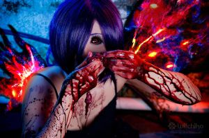 Entrails and blood by Witchiko
