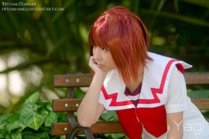 Someday will he notice me? by Hitomi-Cosplay