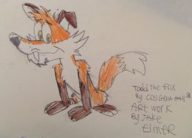 Todd the Fox by WolfGang-Jake