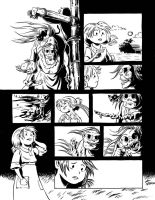 Famine-Page 6 ink by liliesformary