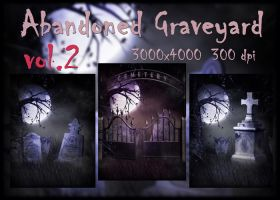 Abandoned Graveyard VOL 2, backgrounds by KlaraKay