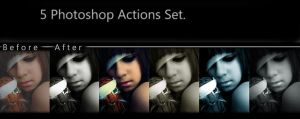 5 psp actions set preview by candymax-stock