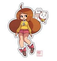 Bee and Puppy Cat by Willow-San