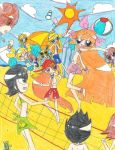 :CE: Beach Party!! by kuku88