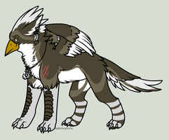 Griffin Adopt (draw to adopt) by Honey-PawStep
