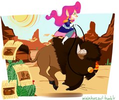 Jasliene and Baxter Day by Miniatureowl