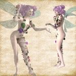 Porcelin Fae set 03 by Just-A-Little-Knotty