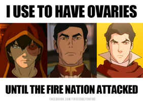 When the fire nation attacked by Byrdgirl13