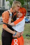 Sanji and Nami by Franky-chan