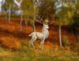 The White Stag by Hareguizer
