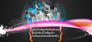 Freddie Mercury wallpaper by LaPikkolaCla