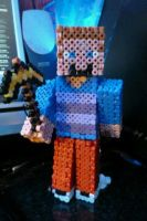 Hama Bead Stylish Steve by Xzavier-JP