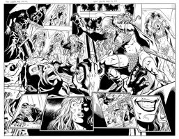 Red Sonja 66 page 02 and 03 by wgpencil