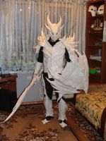 My Daedric Armor - Full-set by Chelsiec