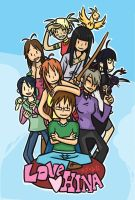 Love Hina by Mul