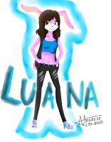 :Gift: Luana the Rabbit by Eduardathewolf