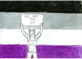 We are asexuals: The One Percent by fujoshianimechick