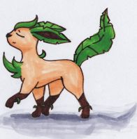 Leafeon 3 by Icognito-chan