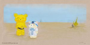 Star Wars Rilakkuma by MyRobotBee