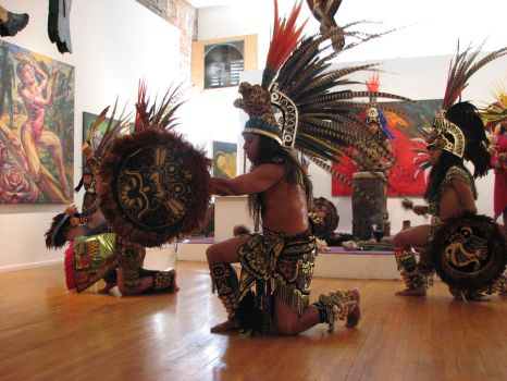 Free Aztec Dancer stock 5 by tursiart