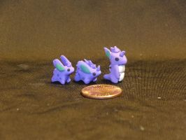Mini Pokemon #32,33,34 by Snowifer