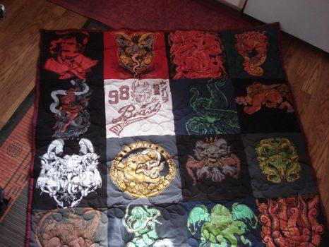 Shirt Quilt by missmonster