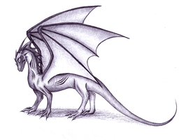 Dragon With Scars by Drakeshya