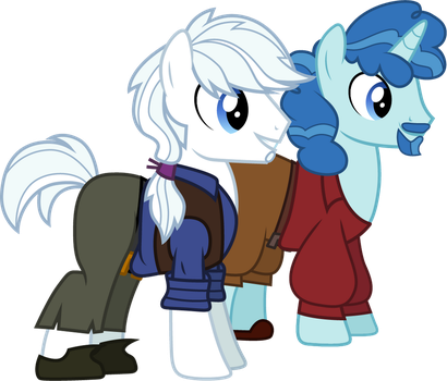 Party Favor and Double Diamond as Miguel and Tulio by CloudyGlow