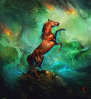 Thunder Horse by RHADS