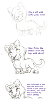 Tiger thing - Tutorial by Kiwibon