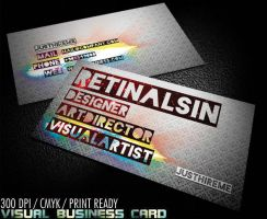 Visual Business Card by retinathemes