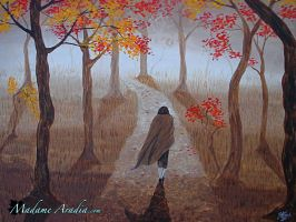 The Way of Autumn by MadameAradia