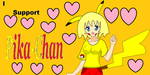 I Support Pika-Chan by MarioBlade64