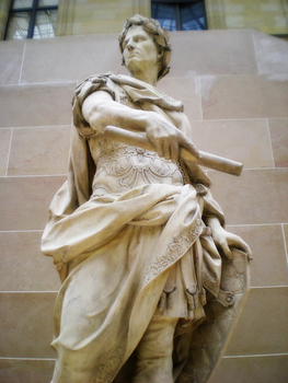 Louvre Statues II :The Emperor by Siberia-Beach