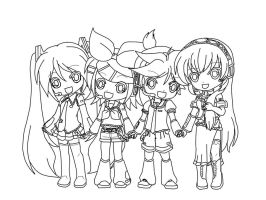Vocaloid Chibi's by Angieangel196