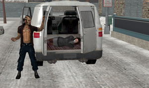 100% pose-able Abductor's Van (XPS Updated) by bstylez